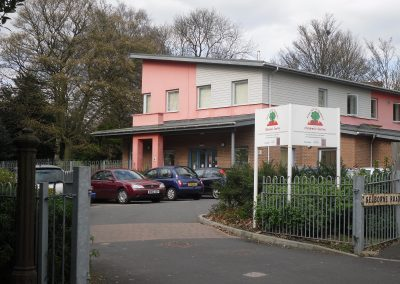 surestart main entrance