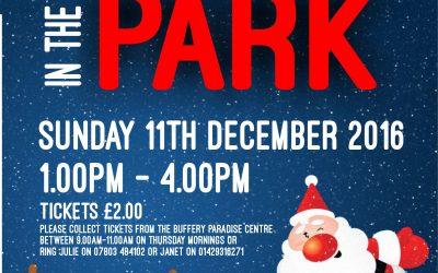 Santa in the Park