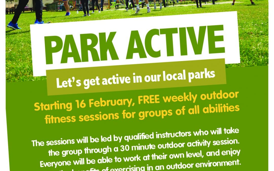 PARK ACTIVE SESSIONS NOW ON BUFFERY PARK